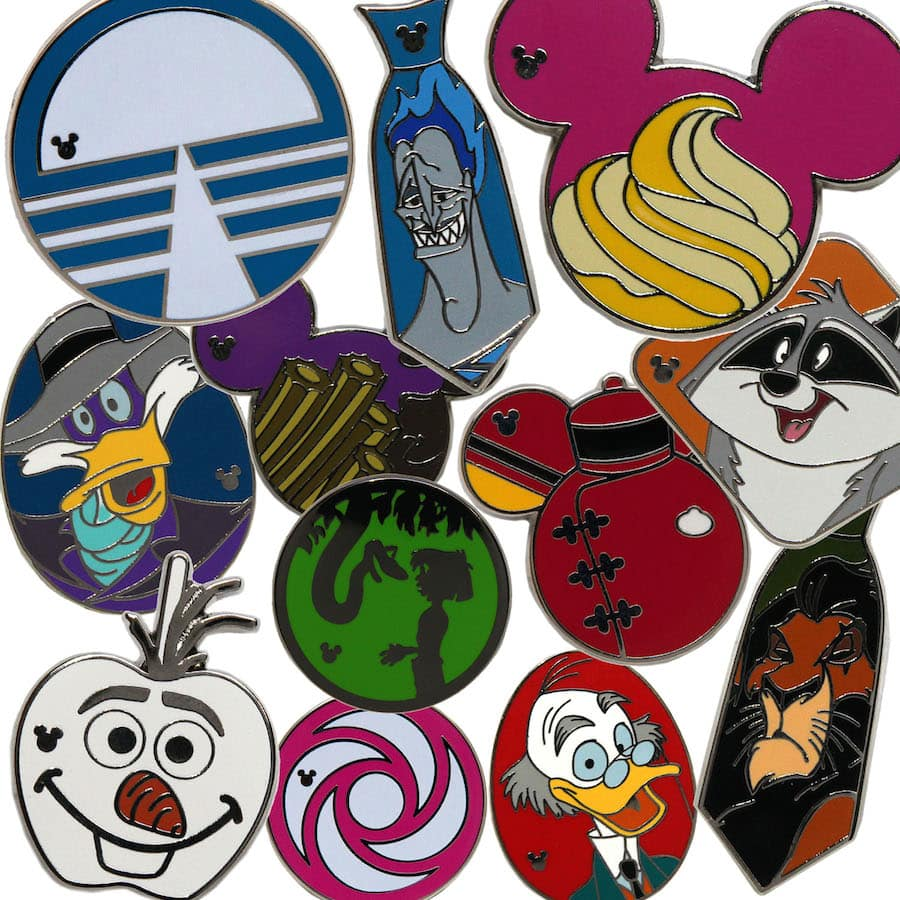 2a3625f5943f New Hidden Mickey Pins Coming to Disney Parks in April 2015 | Disney ...