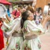 New B'net Al Houwariyate, a Multi-Generational Berber Music and Dance Troupe from Marrakesh at Morocco at Epcot