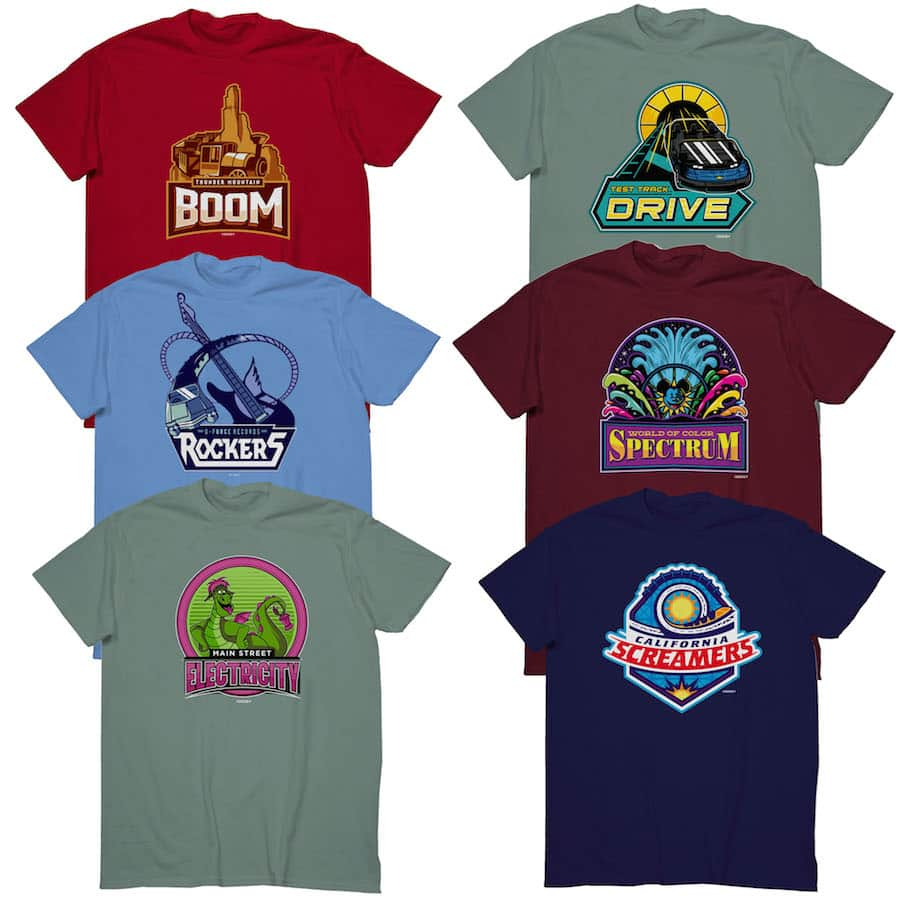 Show Your Disney Side Spirit With March Magic Team Shirts Coming To
