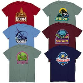 Show Your Disney Side Spirit with March Magic Team Shirts Coming to Disney Parks Online Store