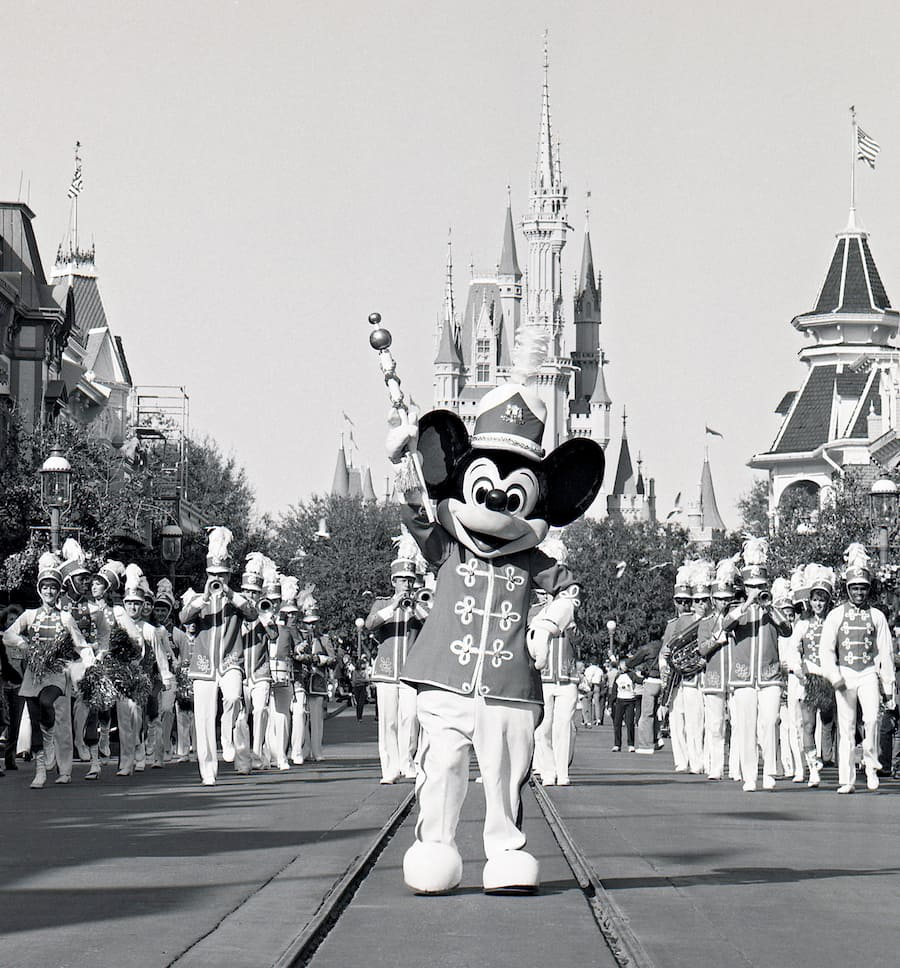 Disney Days Of Past: Marching On Main Street, U.S.A. At