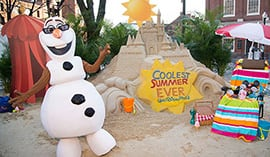 Giant Sand Castle in the Snow Announces 24-Hour Party, 'Coolest Summer Ever' at Walt Disney World Resort