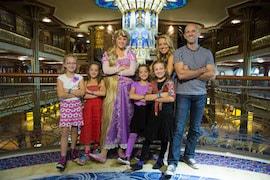 Host Melissa d'Arabian and Her Family on the Disney Dream