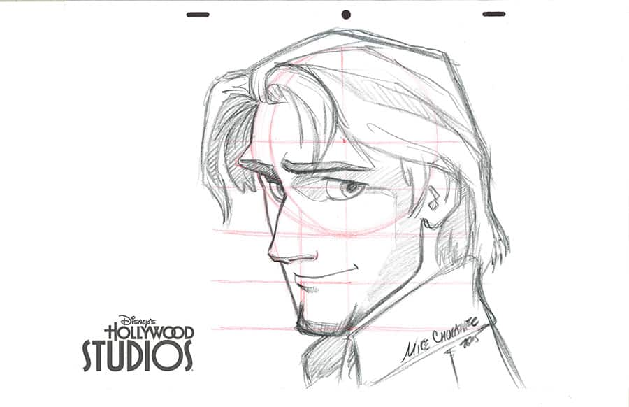 Learn to Draw: Flynn Rider from 'Tangled' at Disney's Hollywood Studios