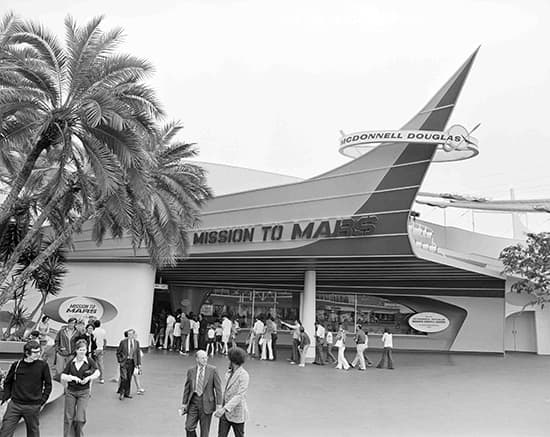 Image result for disneyland mission to the moon