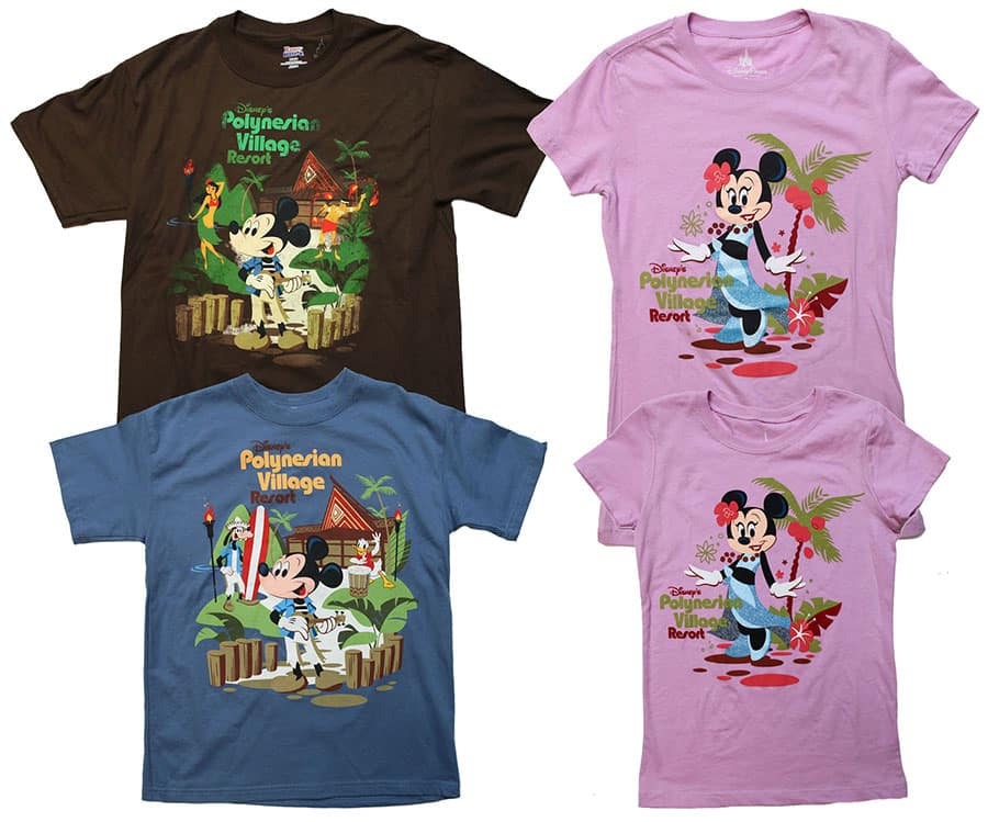 4d8054ea Preview of New Merchandise Coming to Disney's Polynesian Village ...