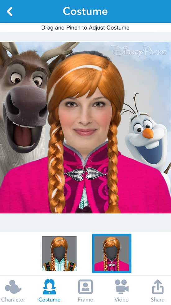 New Disney Side App Transforms You Into Disney Parks Characters