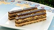 New Opera Cake at Jolly Holiday Bakery Café in Disneyland Park