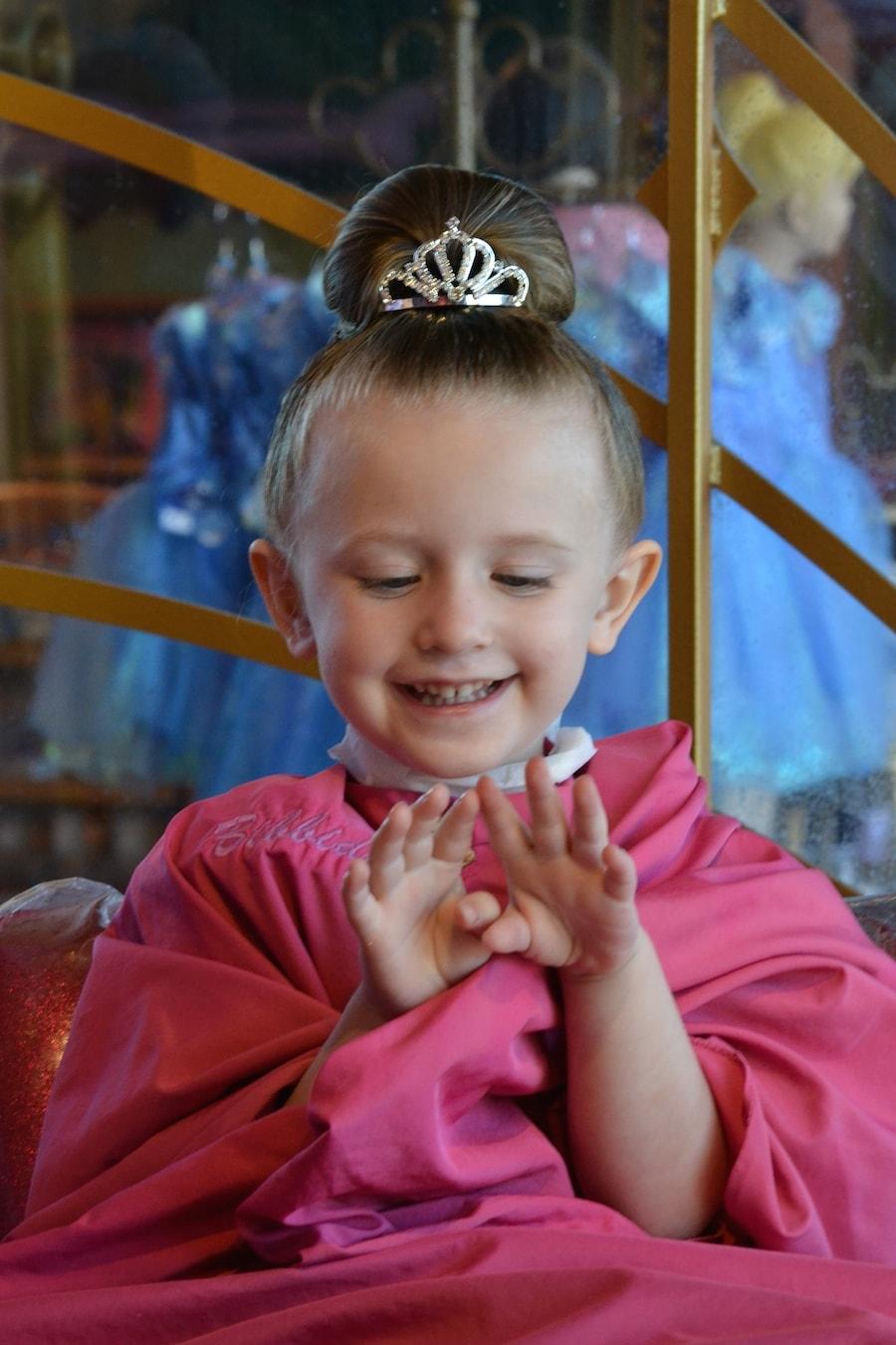 Princess Perfection at Bibbidi Bobbidi Boutique at Downtown Disney at Walt Disney World Resort