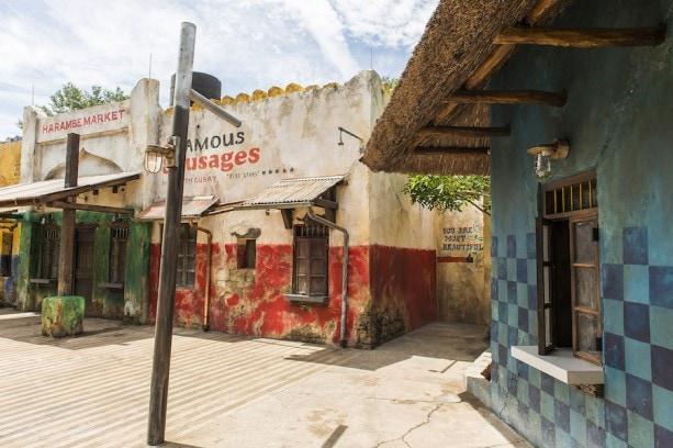 New Harambe Market at Disney's Animal Kingdom