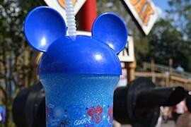 Blue Slush from Storybook Circus at Magic Kingdom Park