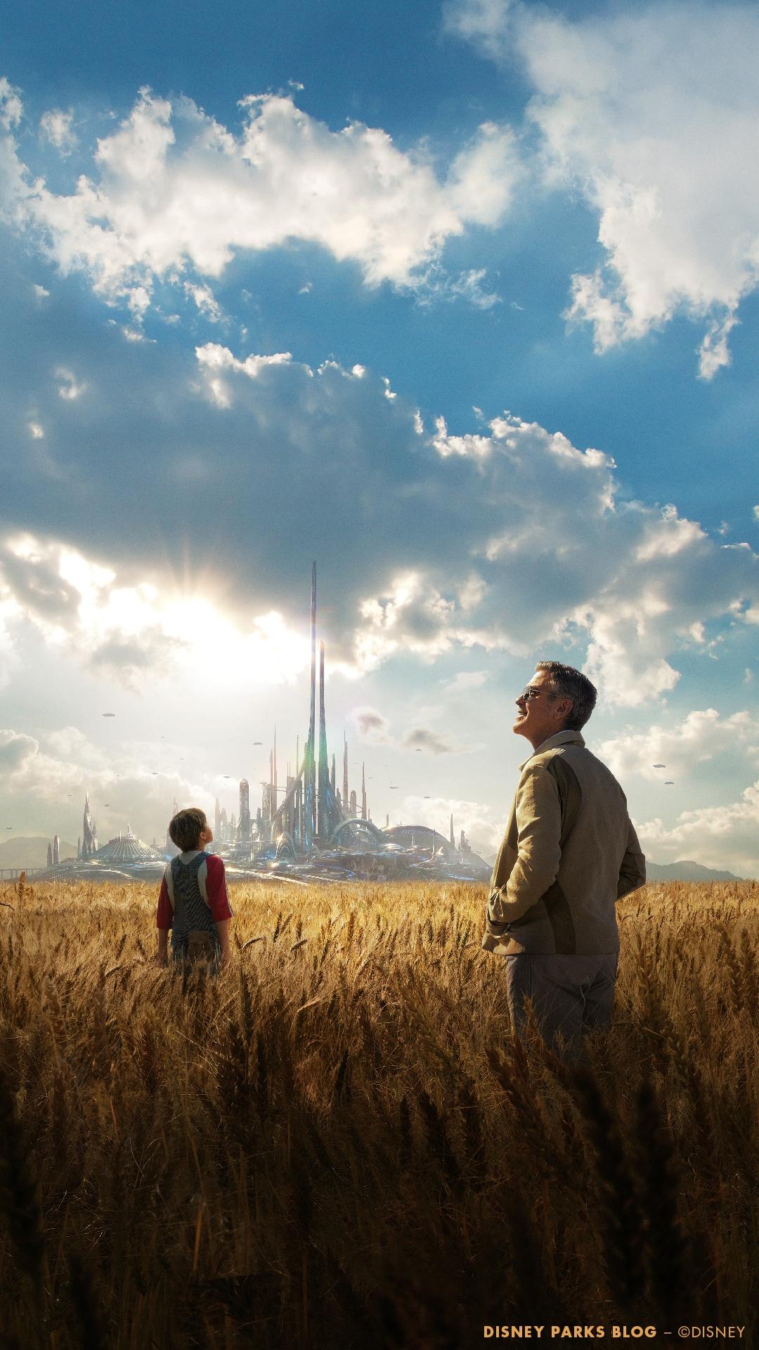 Tomorrowland Movie Logo Widescreen Wallpaper
