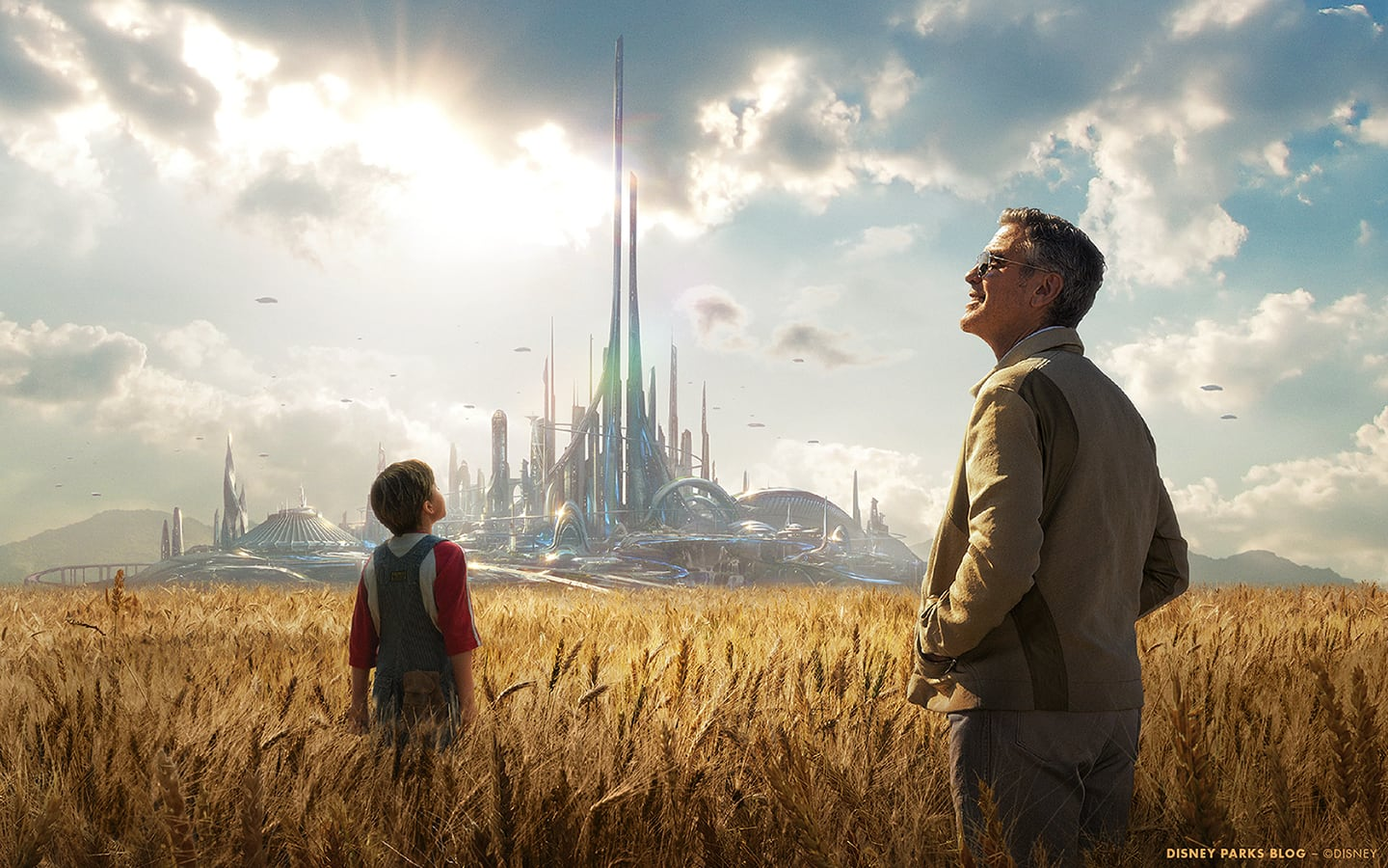 Download Our Tomorrowland Wallpaper to Celebrate Films Release