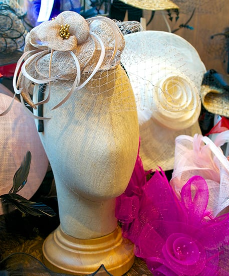 9fe641c4feab3 ... A Focus on Fascinators from Chapel Hats at Downtown Disney in Florida