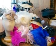 A Focus on Fascinators from Chapel Hats at Downtown Disney in Florida