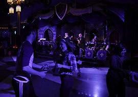 GGuests Dancing to the Music of Swingtown at the Royal Swing Big Band Ball at Disneyland Resort