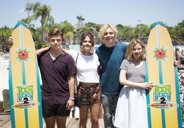 "Disney Channel Film ""Teen Beach 2"" Stars Kick Off New ""Teen Beach 2:"" Beach Party at Walt Disney World Resort"