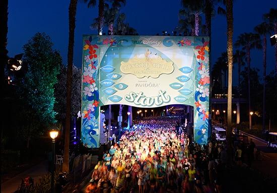 Tinker Bell Half Marathon at Disneyland Resort