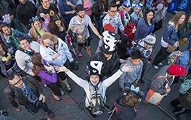 Guests Sparkle for Disneyland Resort Diamond Celebration 24-Hour Event