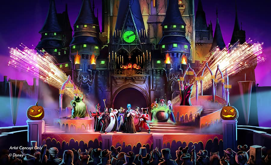 Halloween In Disney Florida.New Show At Mickey S Not So Scary Halloween Party Will Cast