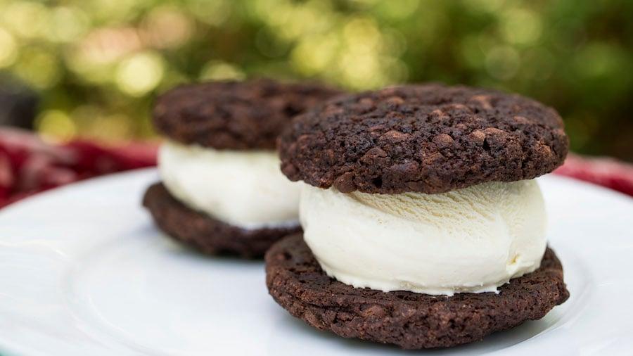 Double Chocolate-Chip Ice Cream Sandwich from Tamu Tamu Refreshments at Disney's Animal Kingdom