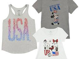 Show Your Patriotic #DisneySide with Americana Themed Goods from Disney Parks
