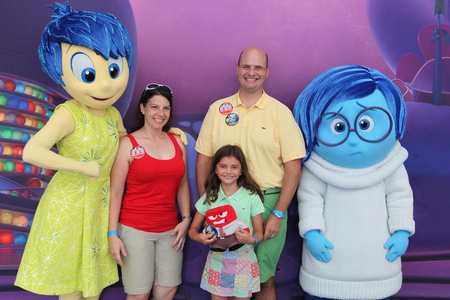 Disney Parks Blog Readers Enjoy 'Inside Out' Meet-Up