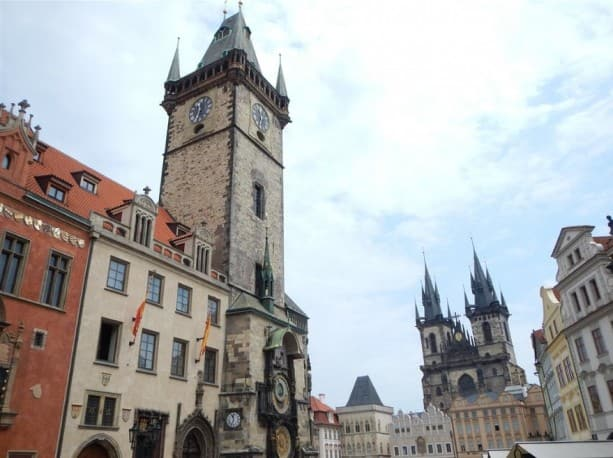 Famous sites like St. Vitus Cathedral can be seen on the Adventures by Disney Austria, Germany and Czech Republic vacation.
