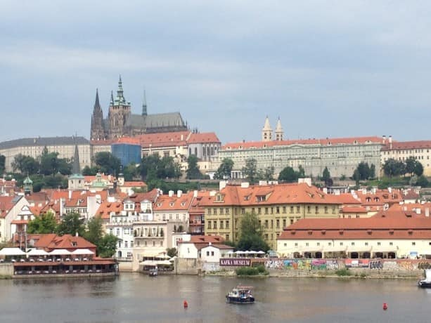 The beautiful landscape of Prague is one of the sights of this Adventures by Disney vacation.