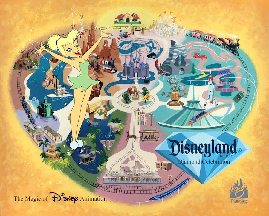 Limited Availability Sleeping Beauty Castle Play Set Disneyland Diamond Celebration
