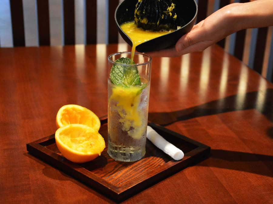 Shochu Squeeze from Tokyo Dining at Epcot