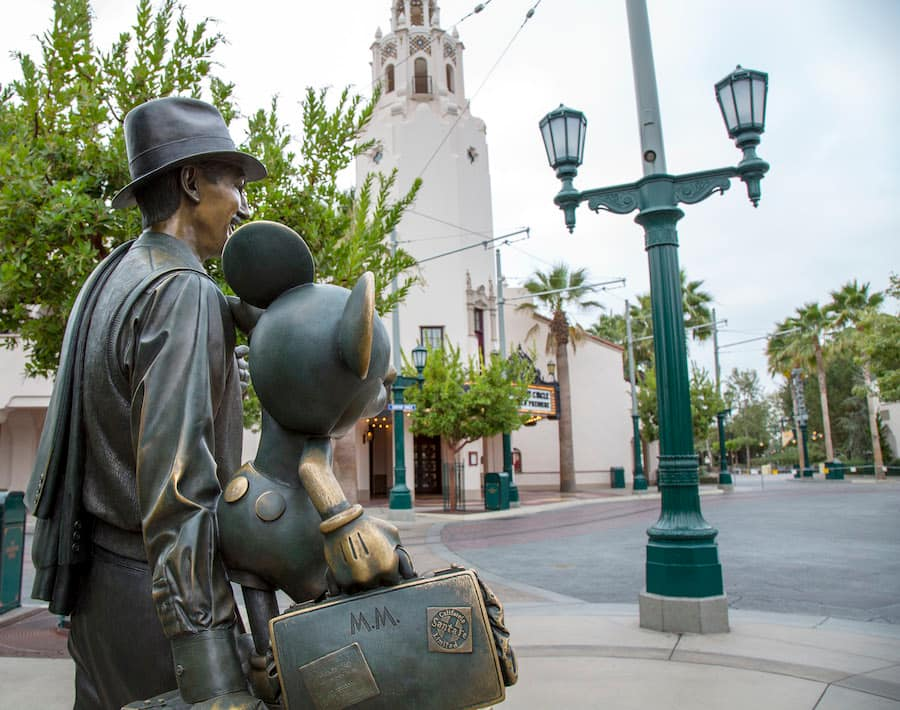 A Unique Point Of View Storytellers Statue At Disney California