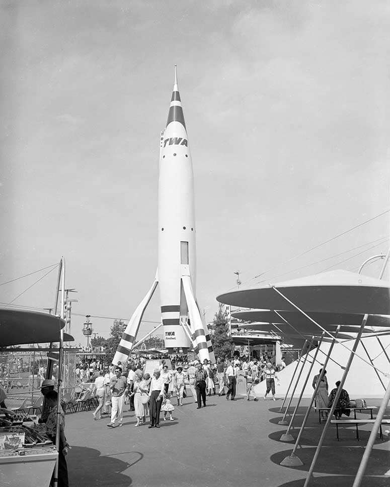 Building The Dream The Making Of Disneyland Park Rocket To The Moon And The Moonliner Disney Parks Blog