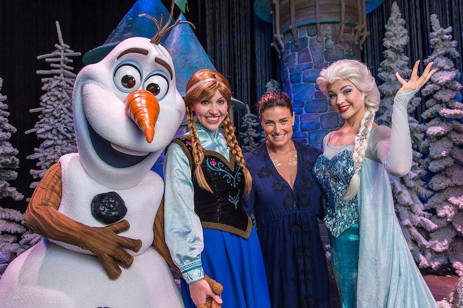 Actress & Singer Idina Menzel Talks 'Frozen' at Disney Parks