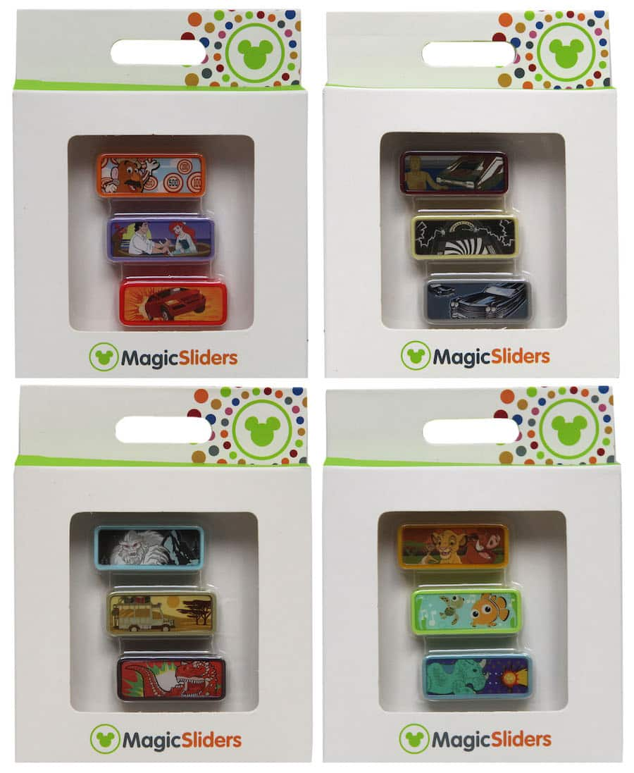 Attraction-Themed MagicSliders Available at Walt Disney World Resort