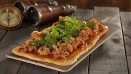 Fried Calamari Flatbread with Spicy Harissa Coming to Jock Lindsey's Hangar Bar at Downtown Disney at Walt Disney World Resort