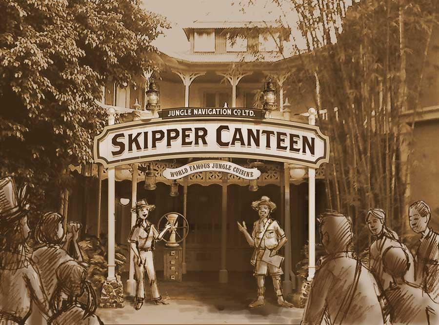 Jungle Navigation Co., Ltd. Skipper Canteen To Open at Magic Kingdom Park