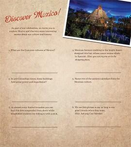 Celebrate Mexico at Epcot