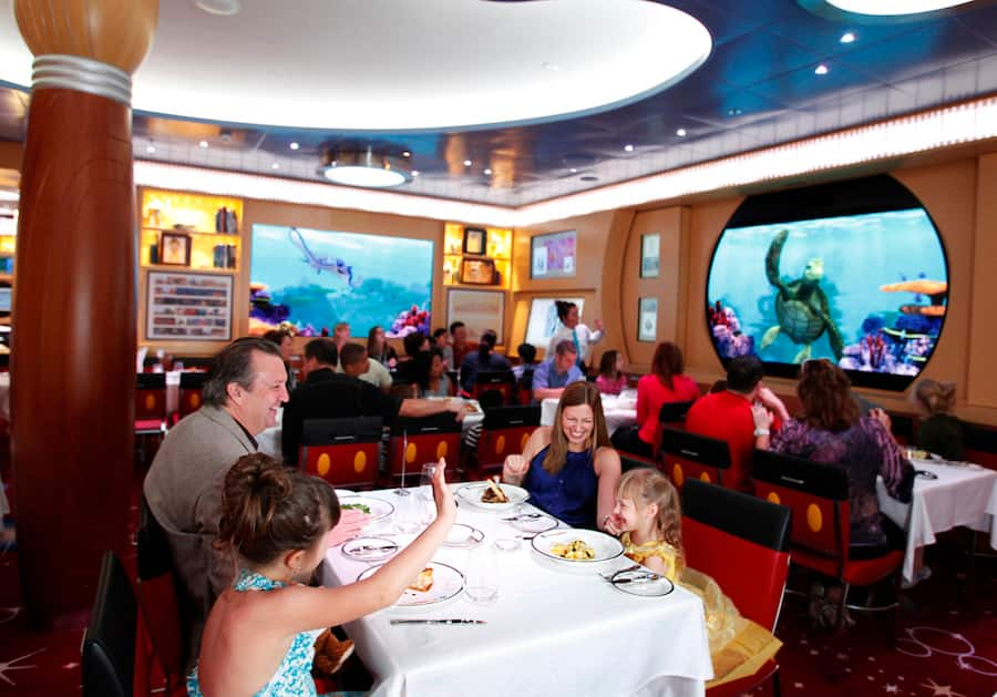 Disney Character Cruise Dining