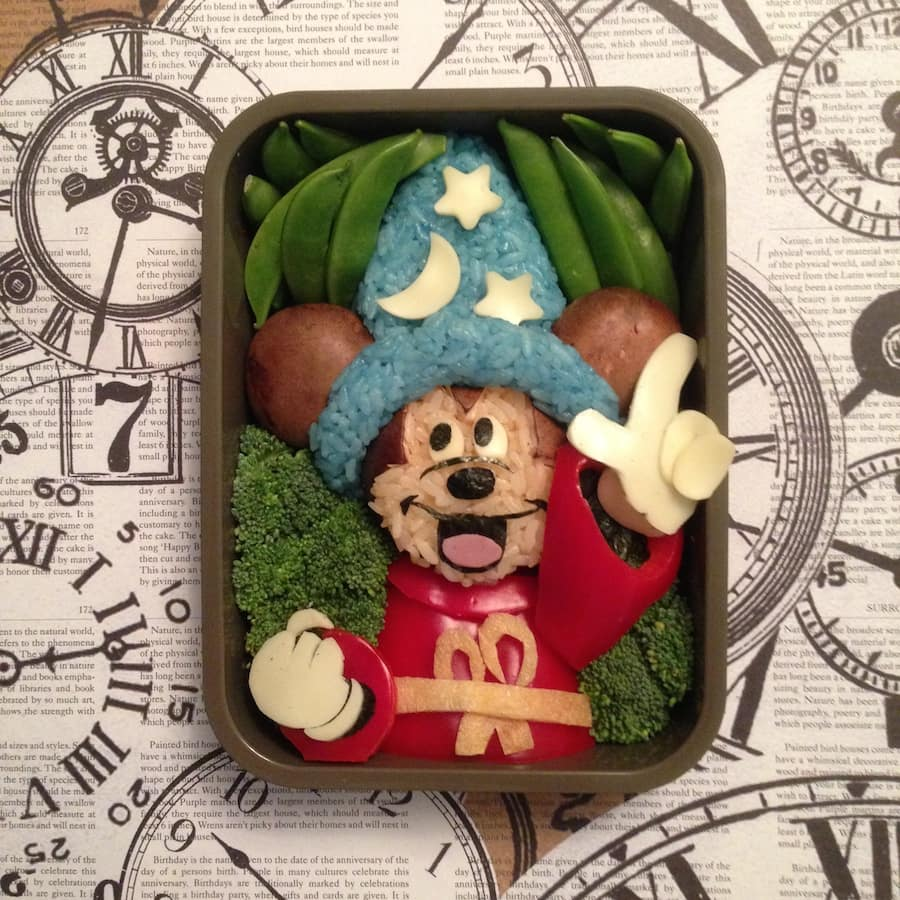 Mickey Mouse Bento Box