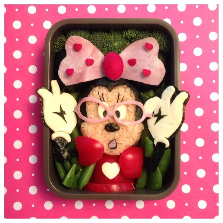 Minnie Mouse Bento Box