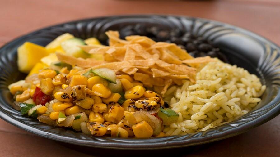 New Veggie Rice Bowl from Pecos Bill Tall Tale Inn and Café in Magic Kingdom Park