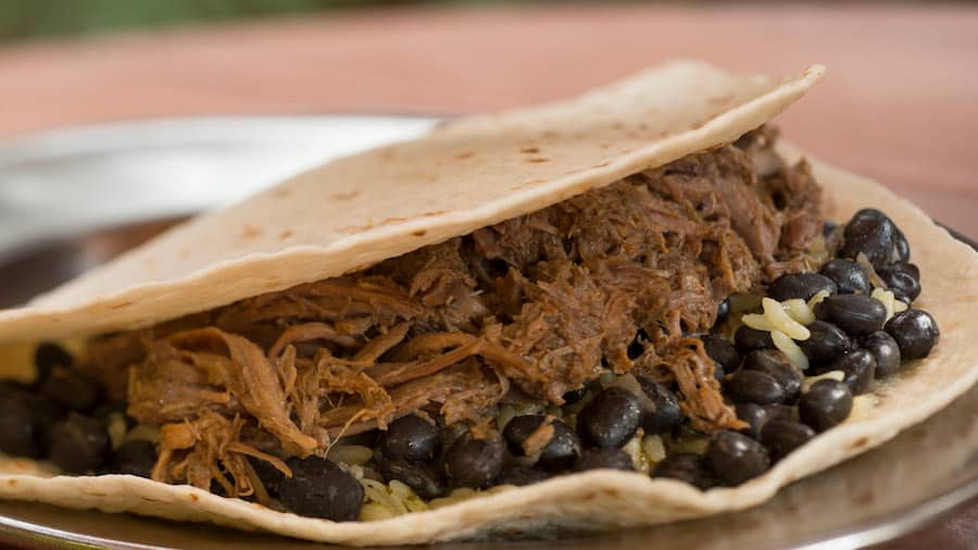 New Burrito from Pecos Bill Tall Tale Inn and Café in Magic Kingdom Park