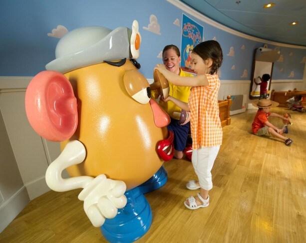 Disney's Oceaneer Club - Andy's Room on the Disney Dream
