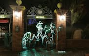 Halloween Light Painting from Magic Kingdom Park Wallpaper
