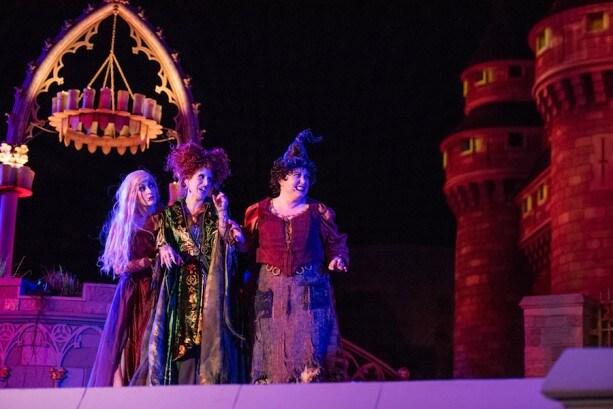 'Hocus Pocus Villain Spelltacular' from Mickey's Not-So-Scary Halloween Party at Magic Kingdom Park