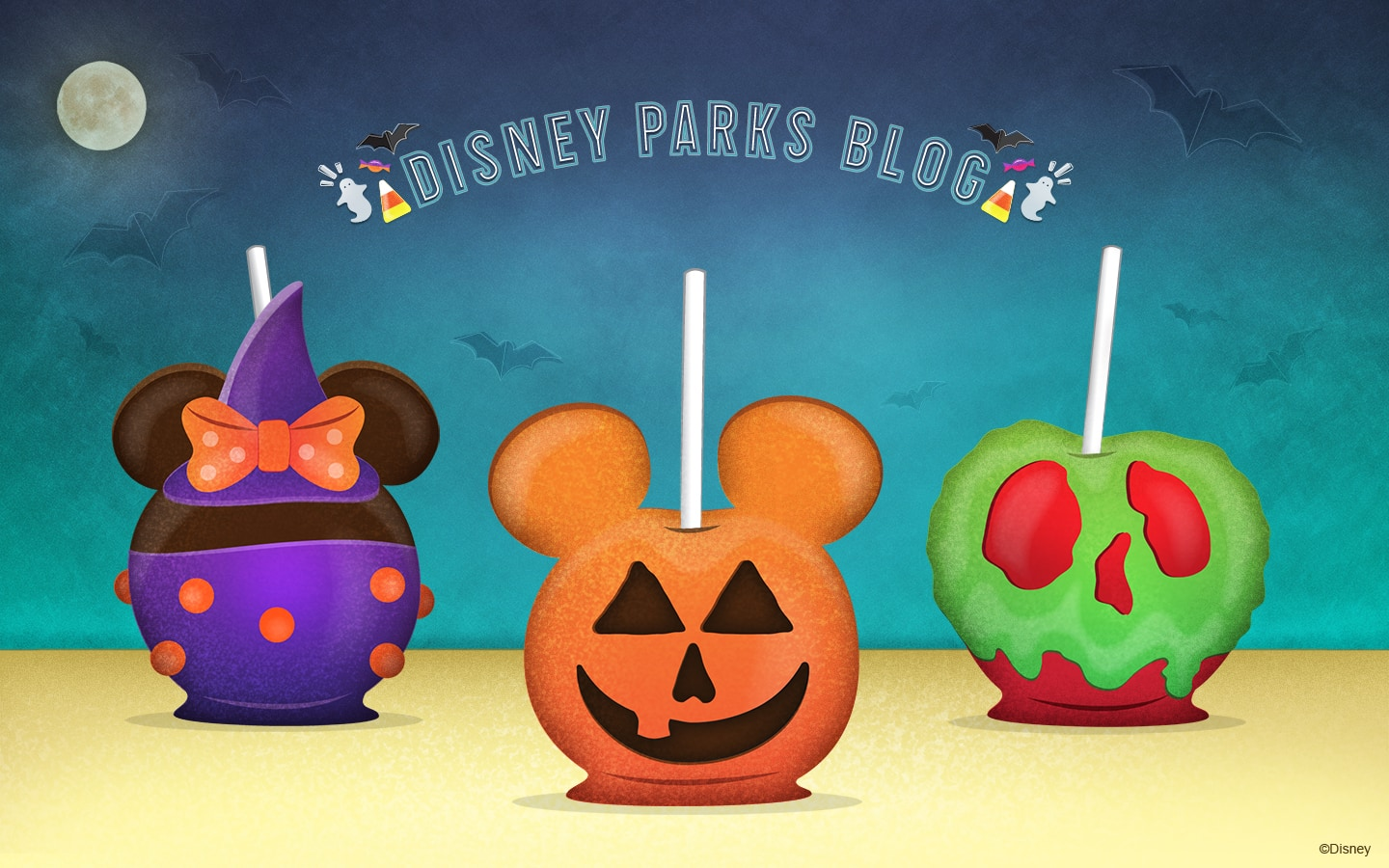 Halloween Candy Apples Wallpaper ...