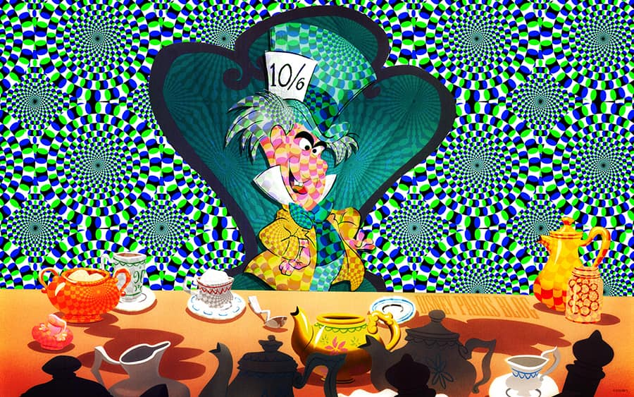 Celebrate Mad Hatter Day With This New Disney Parks Blog Wallpaper