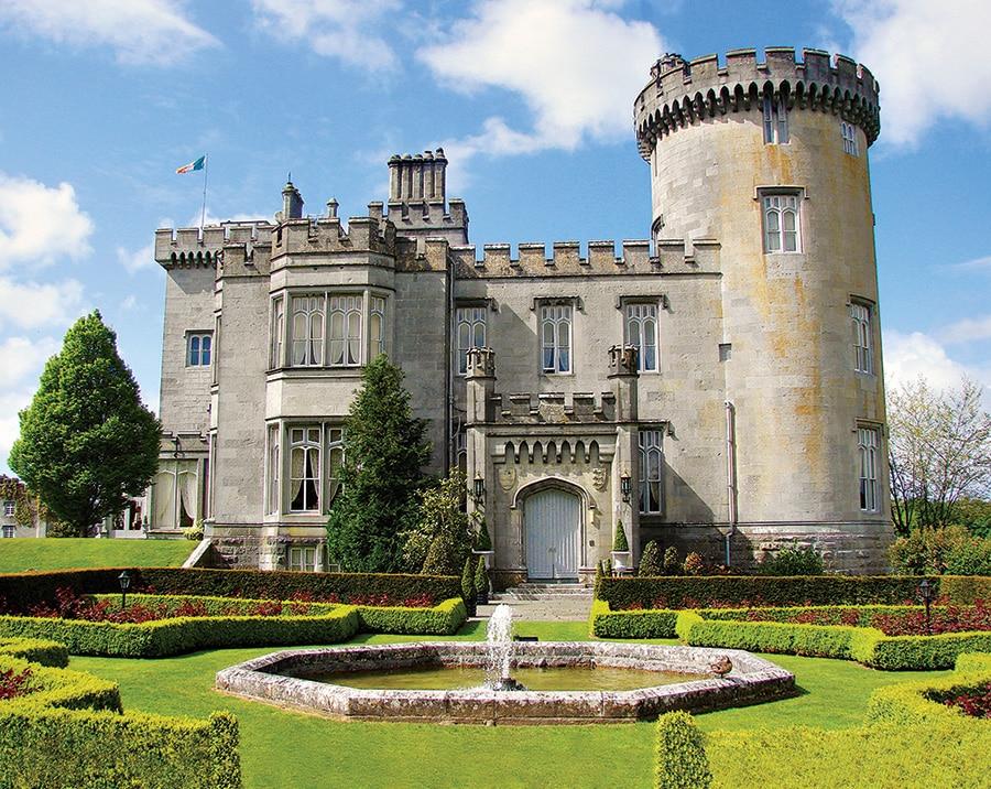 Celebrity juice irish special castle