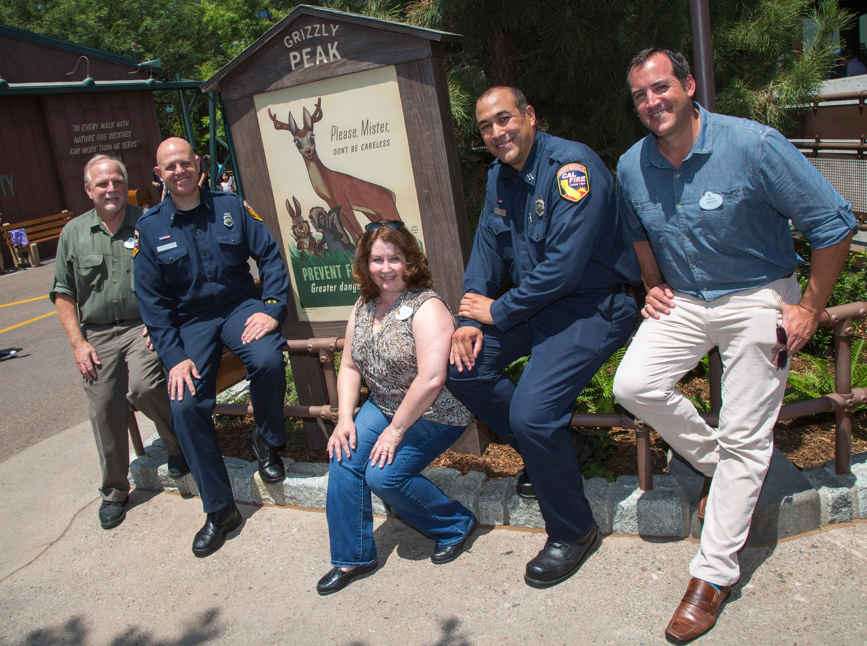 Imagineers Team Up with CAL FIRE to Create Story of Grizzly Peak Airfield at Disney California Adventure Park